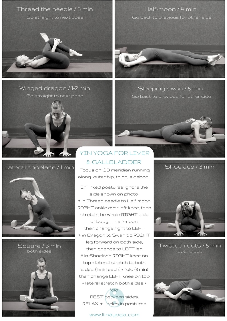 Yin Yoga Sequence Liver